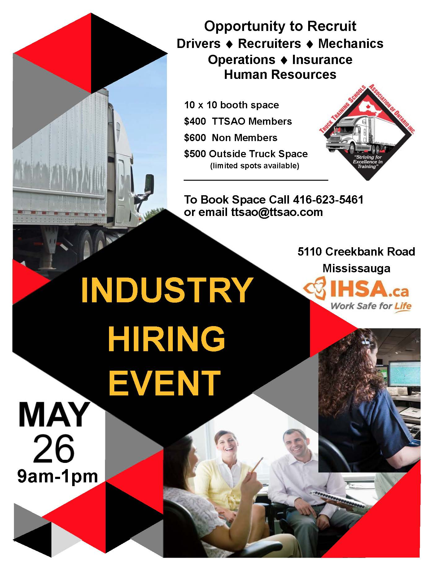 Carrier Group Hiring Event Poster