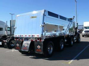 Chrome-Dump-Truck