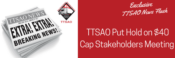 TTSAO Put Hold on $40 Cap Stakeholders Meeting