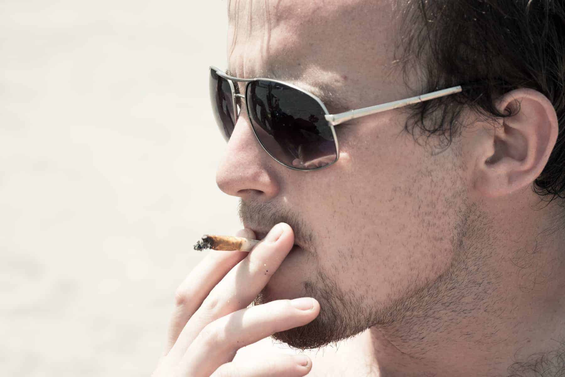 Man-smoking