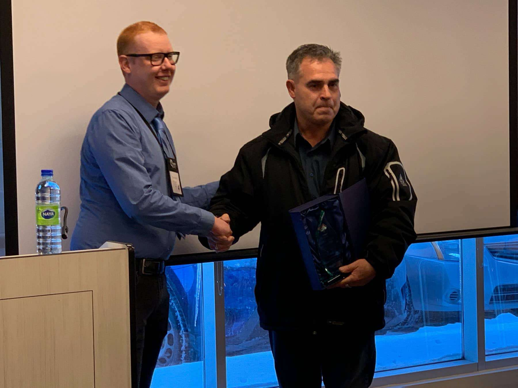 Joe Teixeira-Instructor of the Year 2019
