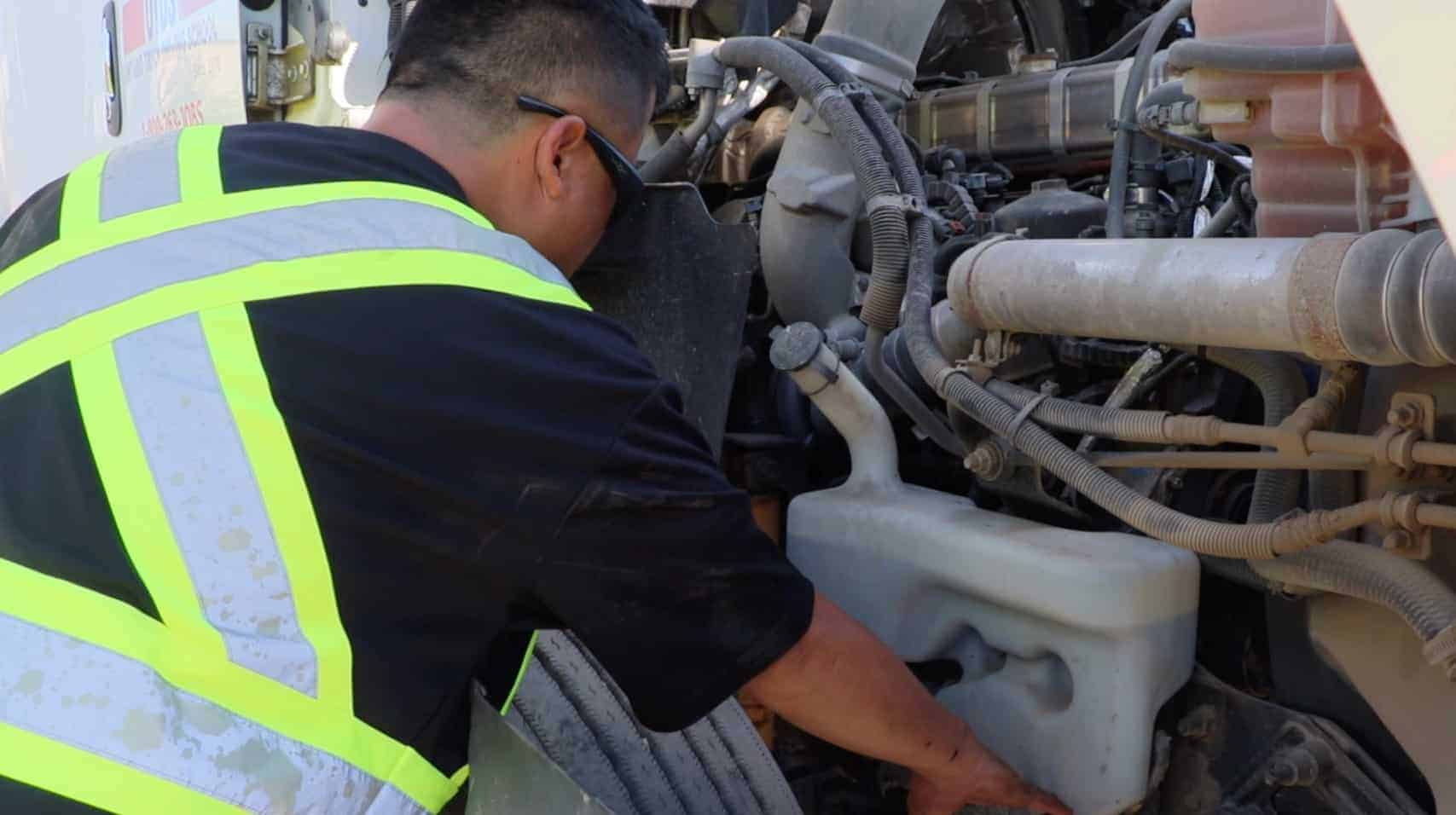 Truck inspections