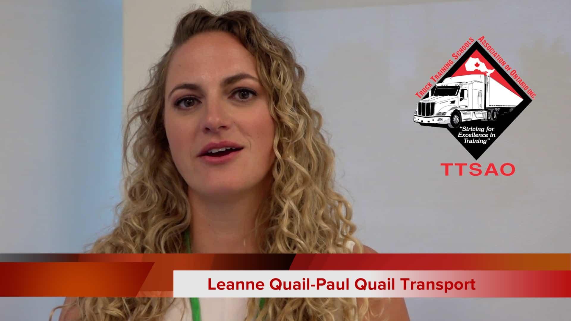 TTSAO Testimonial-Leanne Quail