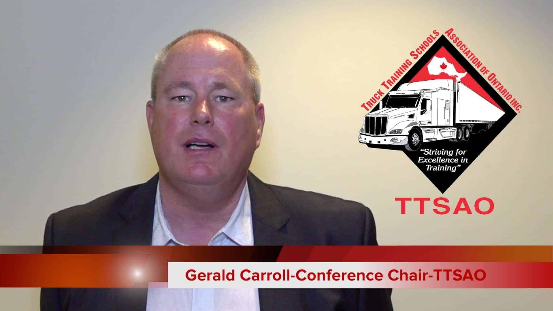 TTSAO TESTIMONIAL-GERALD CARROL