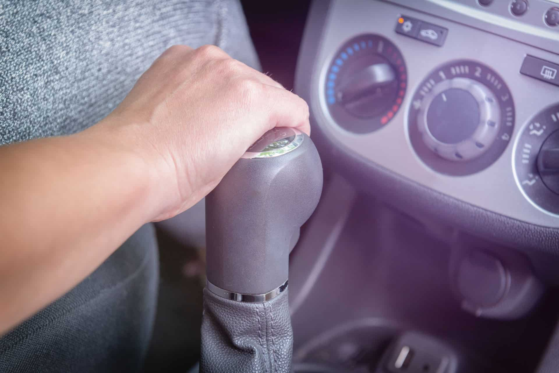 Driver-shifting-gears